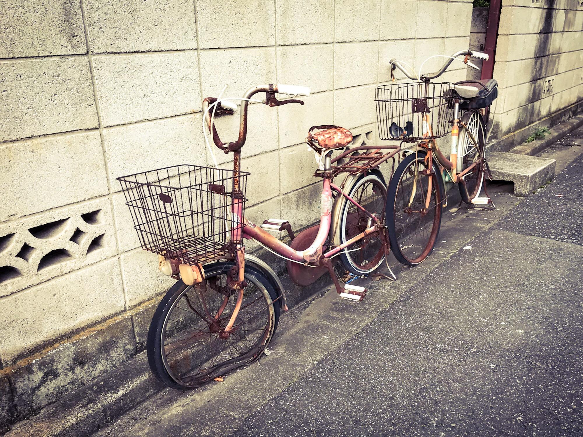 写真は記事とは関係のない自転車。